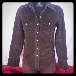 Corduroy brown blazer/ jacket sz xs
